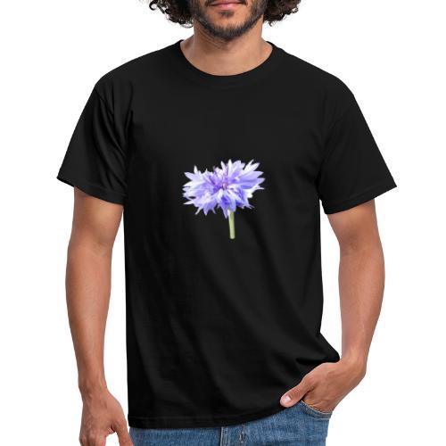 Lila Blume - Männer T-Shirt