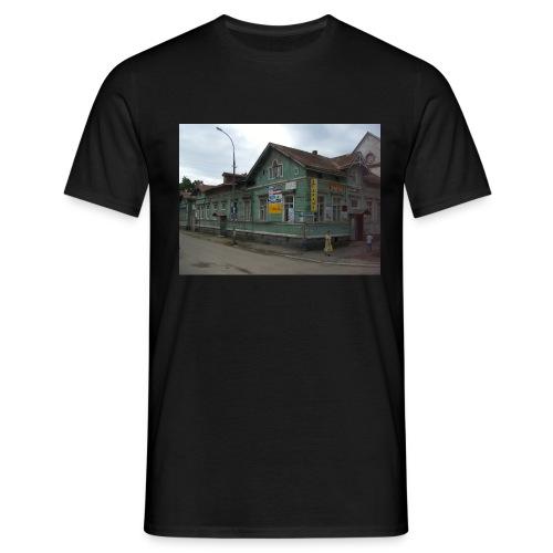Aika on pysähtynyt Sortavalassa - Miesten t-paita