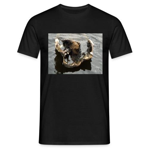Tässä makaan ja muuta en voi - Miesten t-paita