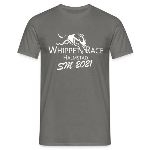 whippetrace sm2021 vit - T-shirt herr