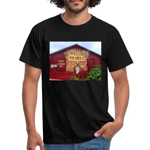 Welcome to hell - Men's T-Shirt