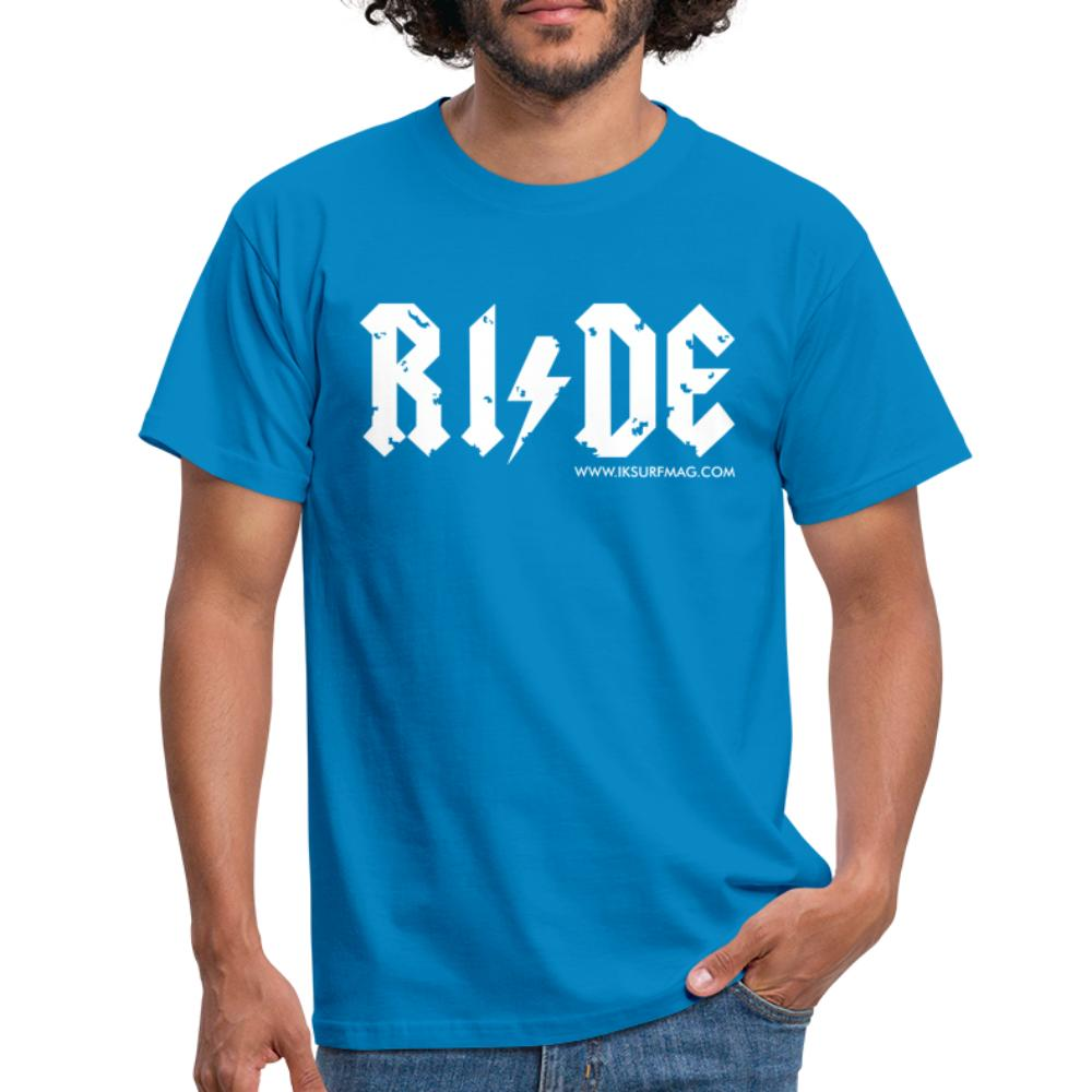 RIDE - Men's T-Shirt - royal blue