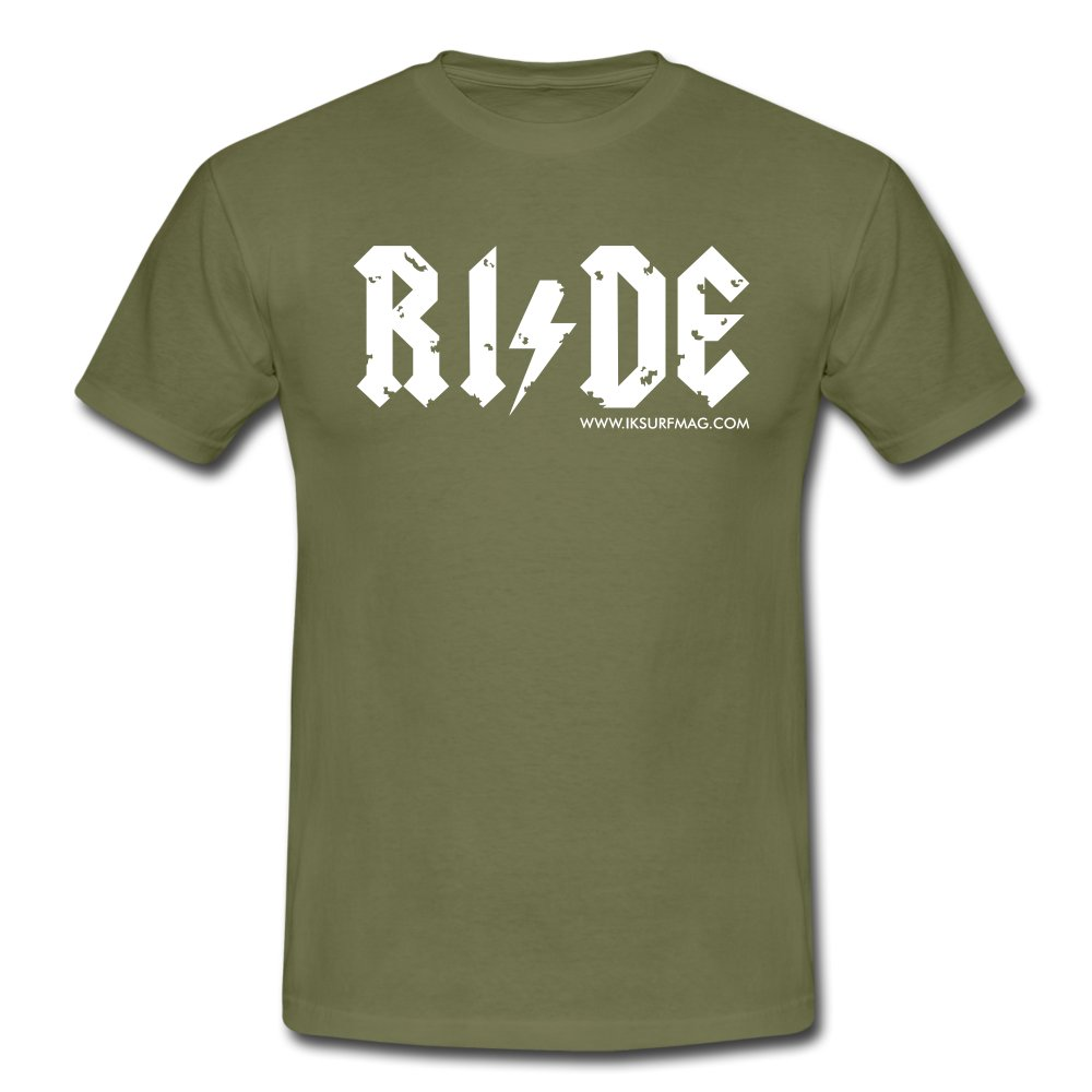 RIDE - Men's T-Shirt - khaki green