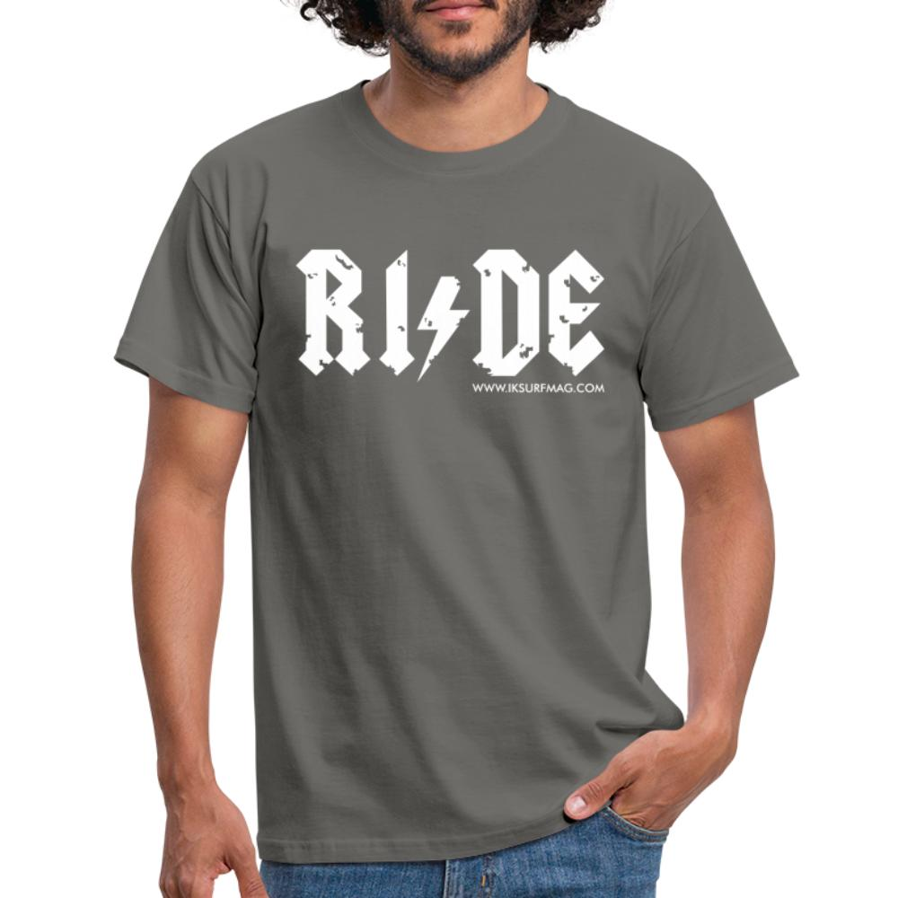 RIDE - Men's T-Shirt - graphite grey