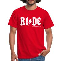 RIDE - Men's T-Shirt - red