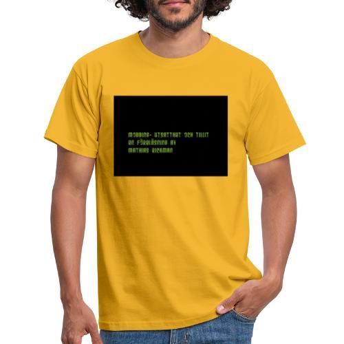 Logga Fo retaget sto rre - T-shirt herr