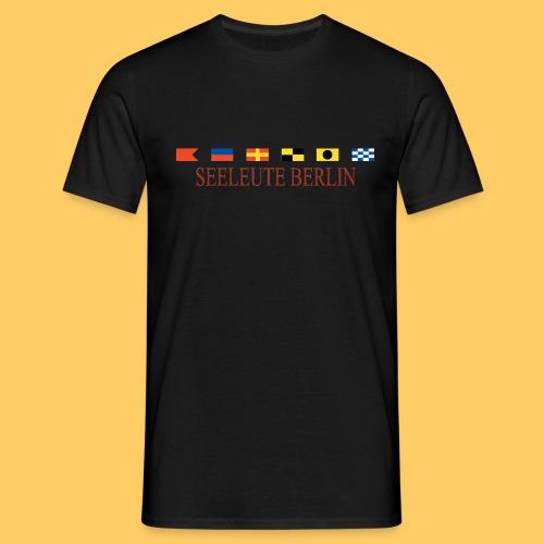 Maske Seeleute Berlin - Männer T-Shirt