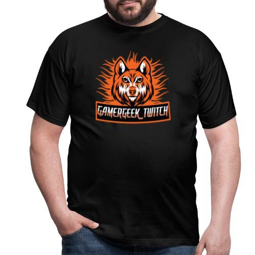 GamerGeek Logo XXXL - Männer T-Shirt