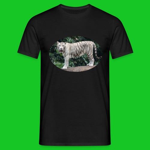 Witte tijger - Mannen T-shirt