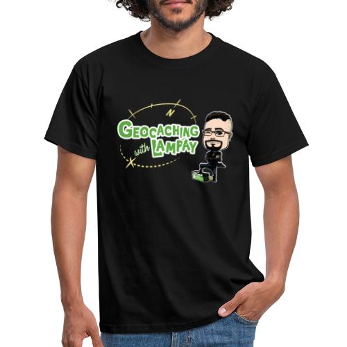 Geocaching With Lampay - T-shirt Homme