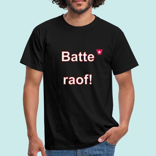 Batteraof vert w - Mannen T-shirt