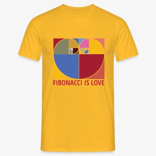 Fibonacci is love - T-shirt Homme