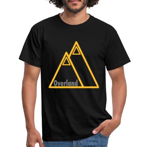 Berg Silhouette Overland - Männer T-Shirt