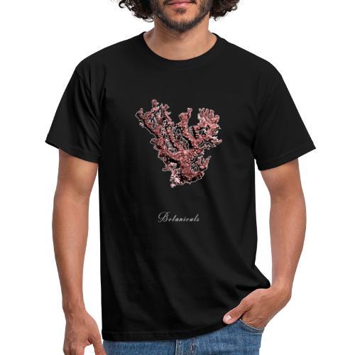 Disegno pianta corallo - Maglietta da uomo