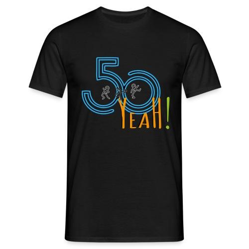 50 yeah shirt1 - Männer T-Shirt