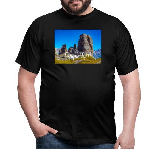 Cinque Torri - Männer T-Shirt