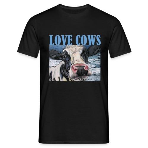 Love Cows - Mannen T-shirt