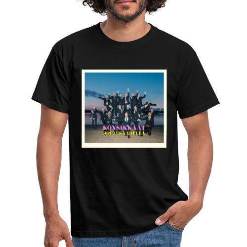 Könsikkäät - joulu saarella otsikoituna - Miesten t-paita
