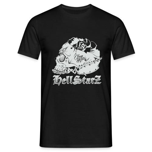 HELLSTARZ Skull Logo - T-shirt Homme