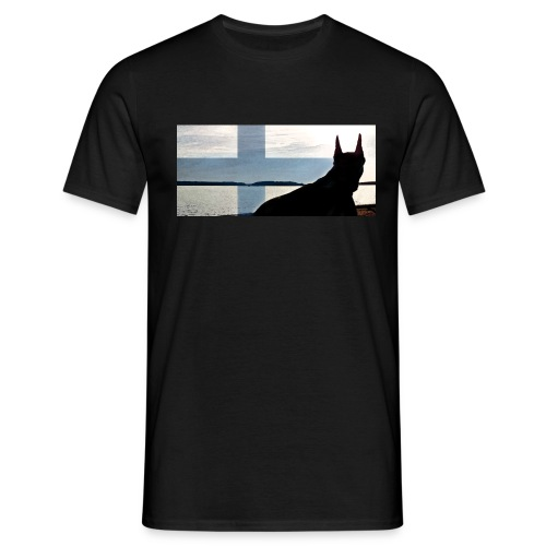 HUPPARITAUSTA2016 copy - Miesten t-paita
