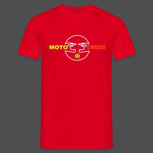 Motocross Helm - Männer T-Shirt