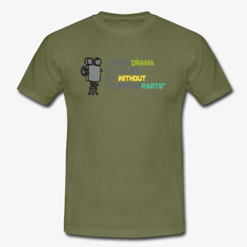 Pasión por el cine - Camiseta hombre