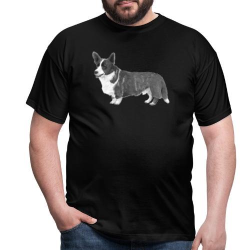 welsh Corgi Cardigan - Herre-T-shirt