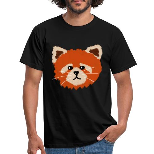 Amanda the red panda - Men's T-Shirt
