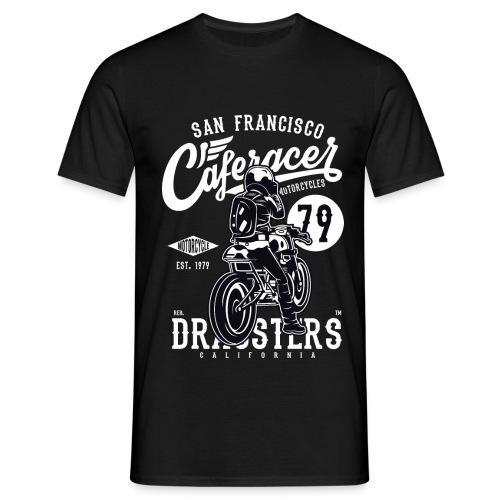 San Francisco Café Racer Motos - T-shirt Homme