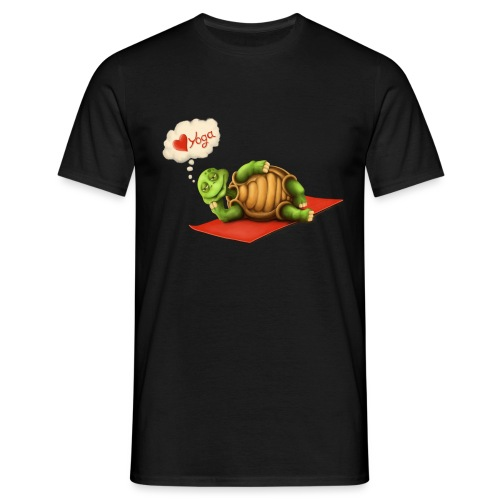 Love-Yoga Turtle - Männer T-Shirt