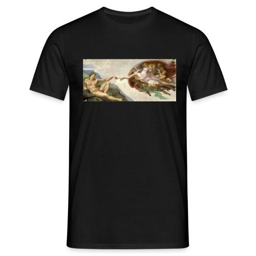 La creación de Adán - Camiseta hombre