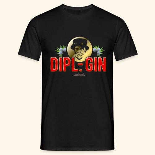 Gin T Shirt Design Dipl.-Gin - Männer T-Shirt