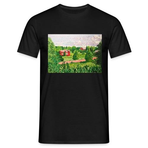 Ahvenanmaan maisema - Miesten t-paita