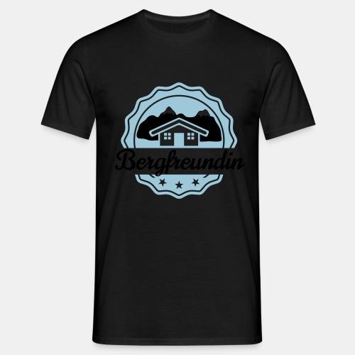 Bergfreundin - Männer T-Shirt