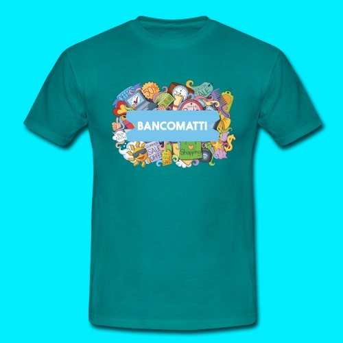 Bancomatti DOODLE 1 - Maglietta da uomo