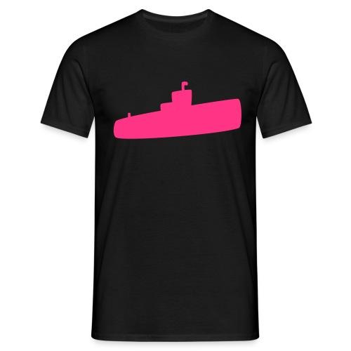 Rosa U-Boot - Männer T-Shirt