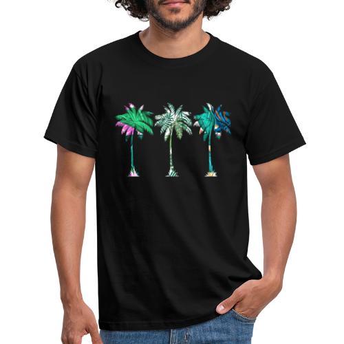 Palmen - Männer T-Shirt