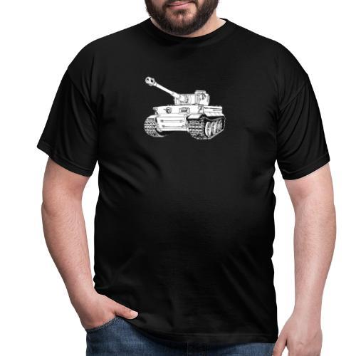 Tank Tiger - Maglietta da uomo