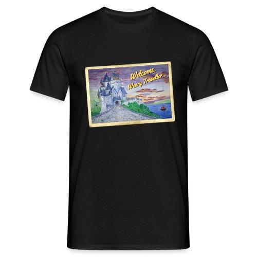 Travellers Guide - Men's T-Shirt
