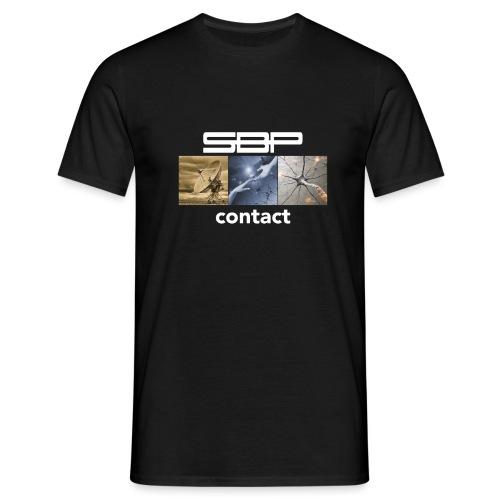 T-shirt Contact 123 black - Men's T-Shirt