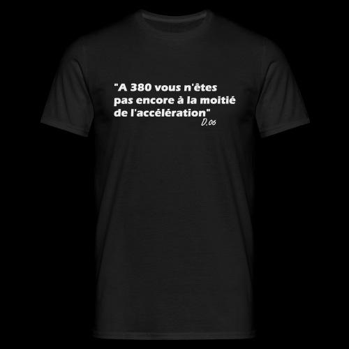 380 (blanc) - T-shirt Homme
