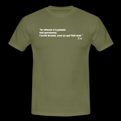 vitesse (blanc) - T-shirt Homme