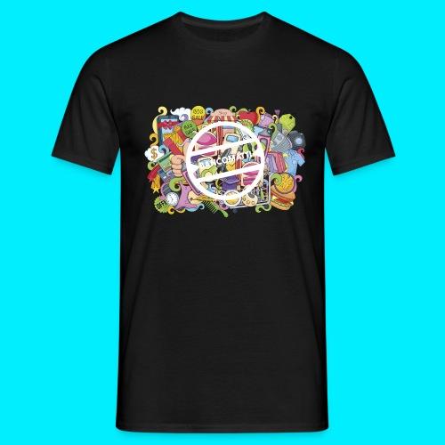 maglia logo doodle - Maglietta da uomo