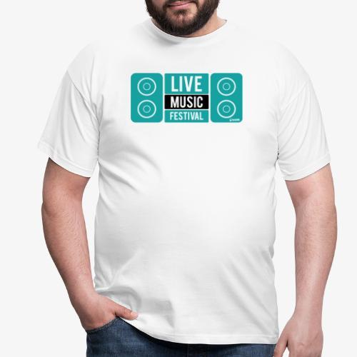 Amo la música - Camiseta hombre