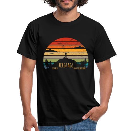 lustige Wanderer Sprüche Shirt Geschenk Retro - Männer T-Shirt