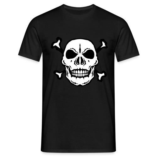 tete mort skull os dead 2706 - T-shirt Homme