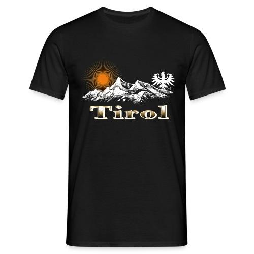 Tiroler Berge - Männer T-Shirt