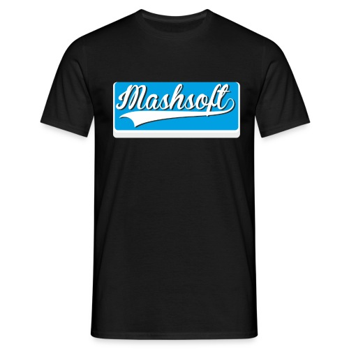 Mashsoft Retro Logo - Männer T-Shirt