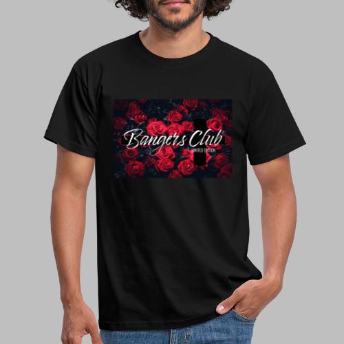 Bangers Club Roses - Männer T-Shirt