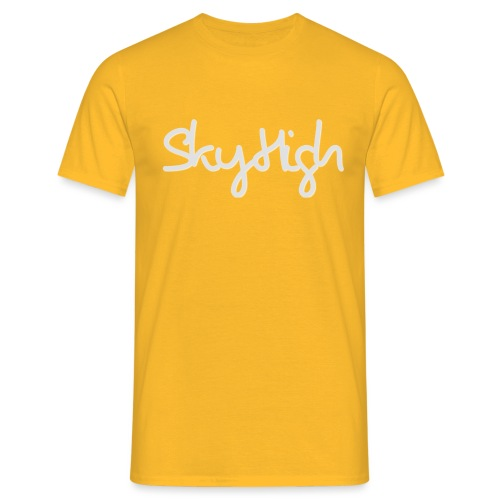 SkyHigh - Women's Premium T-Shirt - Gray Lettering - Men's T-Shirt